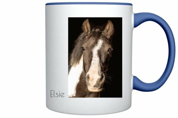 Färgad mugg Elsie