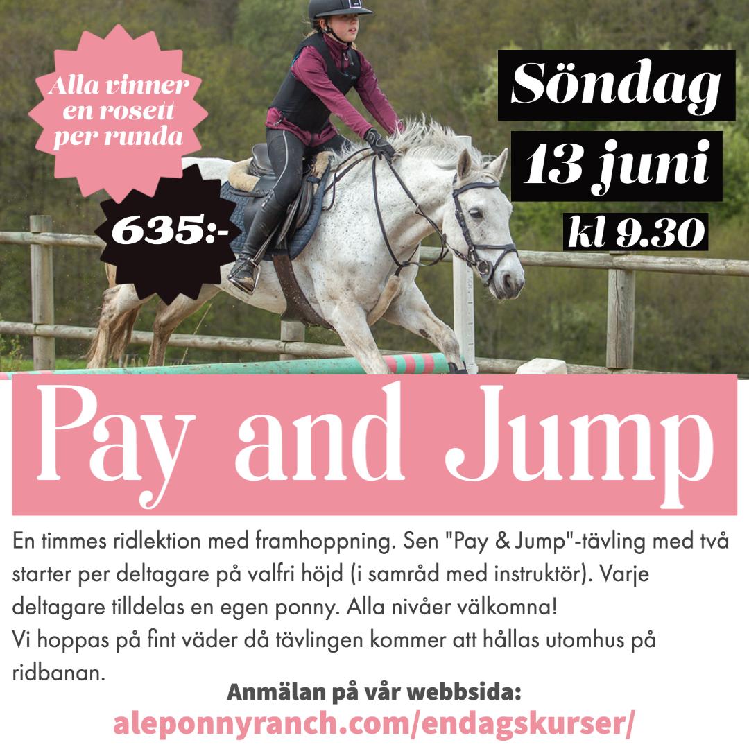 Pay and Jump 13 juni